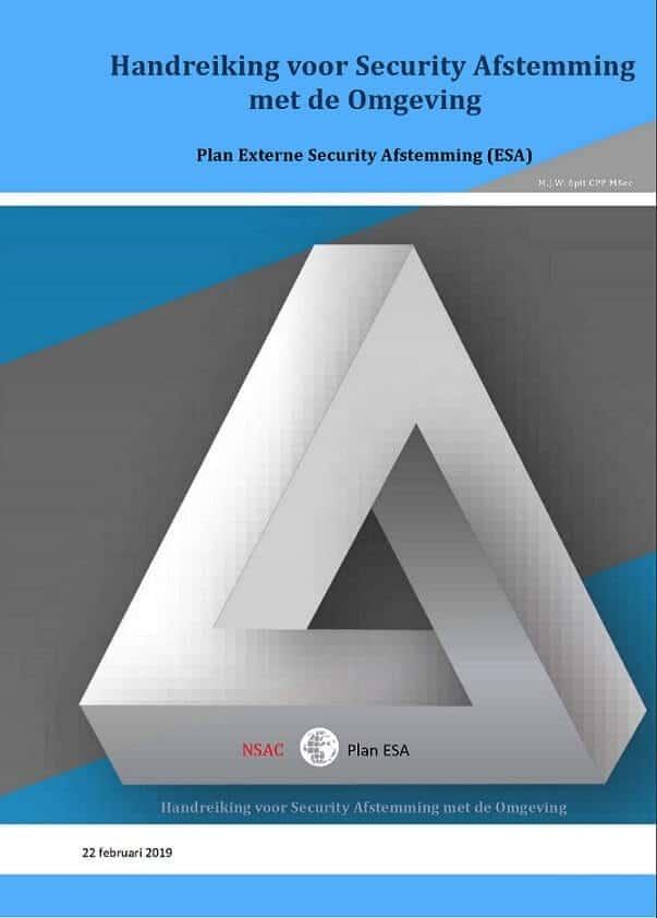 Afspraken over beveiliging - Plan ESA EBO